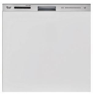 リンナイ 食器洗い乾燥機【RKW-404GPM】ステンレス調ハーフミラー スタンダード