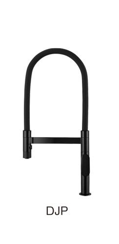 三栄水栓/SANEI【K8781JV-DJP-13】漆黒 シングルワンホールスプレー混合栓
