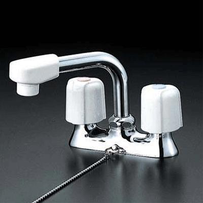 《あす楽》◆15時迄出荷OK!KVK 水栓金具【KM17NSGS】洗面用2ハンドル混合栓