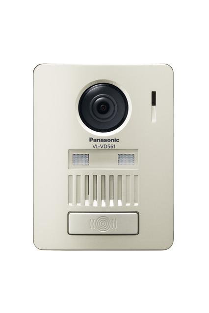 パナソニック ドアホン【VL-VD561L-N】ワイヤレスカラーカメラ玄関子機 システムアップ別売品