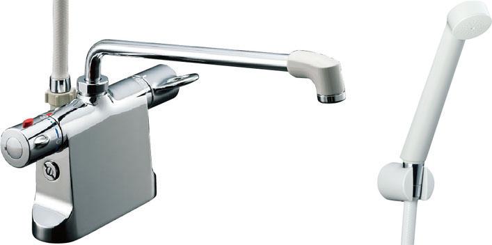 ▽《あす楽》◆15時迄出荷OK!INAX【BF-B646TSD(300)-A120】シャワーバス水栓 ビーフィット エコフルスプレーシャワー逆止弁 乾式工法