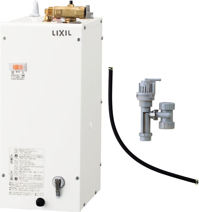 《あす楽》◆15時迄出荷OK!INAX/LIXIL 電気温水器 ゆプラス【EHPS-F6N4】セット品番 コンパクトタイプ カウンター設置用(排水管φ32Sトラップ) (EHPN-F6N4+EFH-4/PT)