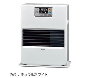 ###コロナ 暖房機器【FF-VG35SA(W)】FF式温風ヒーター ガス化式 ビルトインタイプ 別置きタンク式 木造9畳 コンクリート13畳