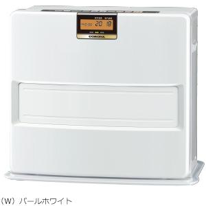 コロナ 暖房機器【FH-VX7318BY(W)】パールホワイト 石油ファンヒーター 大型タイプ VXシリーズ 木造19畳 コンクリート26畳 (旧品番 FH-VX7317BY(W))