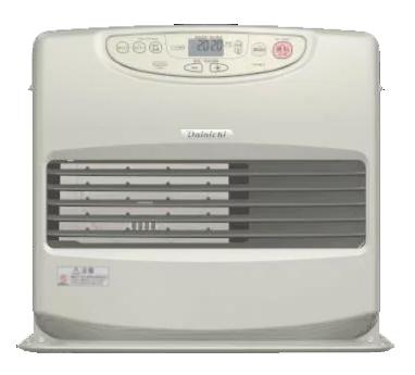 ダイニチ工業 暖房機器【FW-66L2(N)】Lタイプ 家庭用石油ファンヒーター メタリックゴールド 9.0L 大容量9Lタンク搭載タイプ (旧品番 FW-66L(N))