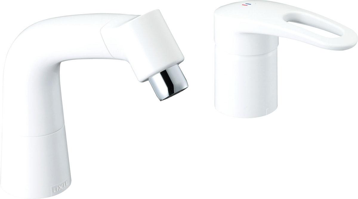 ▽《あす楽》◆15時迄出荷OK!INAX【LF-HX360SR(500)/BW1】マルチシングルレバー混合水栓