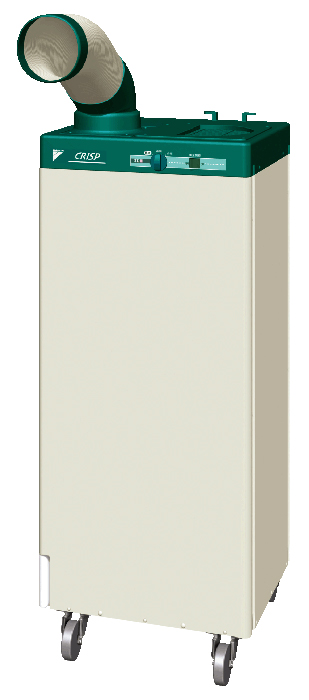 ###ダイキン スポットエアコン【SUASP1FS】単相100V クリスプ(一体型) 標準タイプ 1人用