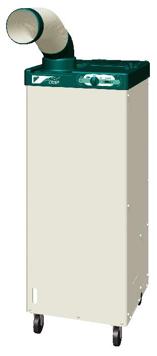 ###ダイキン スポットエアコン 産業用クリスプ【SUBSP1CS】単相100V 床置スリム・直吹形〔2.1/2.4kW〕