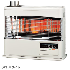 ###コロナ 暖房機器【SV-7018PK(W)】ホワイト ポット式輻射 PKシリーズ 木造18畳 コンクリート25畳