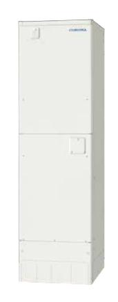 ###コロナ 電気温水器【UWH-46SX1SA2U】インターホンリモコンセット付 オート 排水パイプステンレス仕様 スリムタイプ 460L