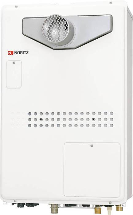 ###▽ノーリツ【GTH-2444AWXD-T-1 BL】ガス温水暖房付ふろ給湯器 設置フリー型 PS扉内設置形 フルオート 24号 2温度 外付
