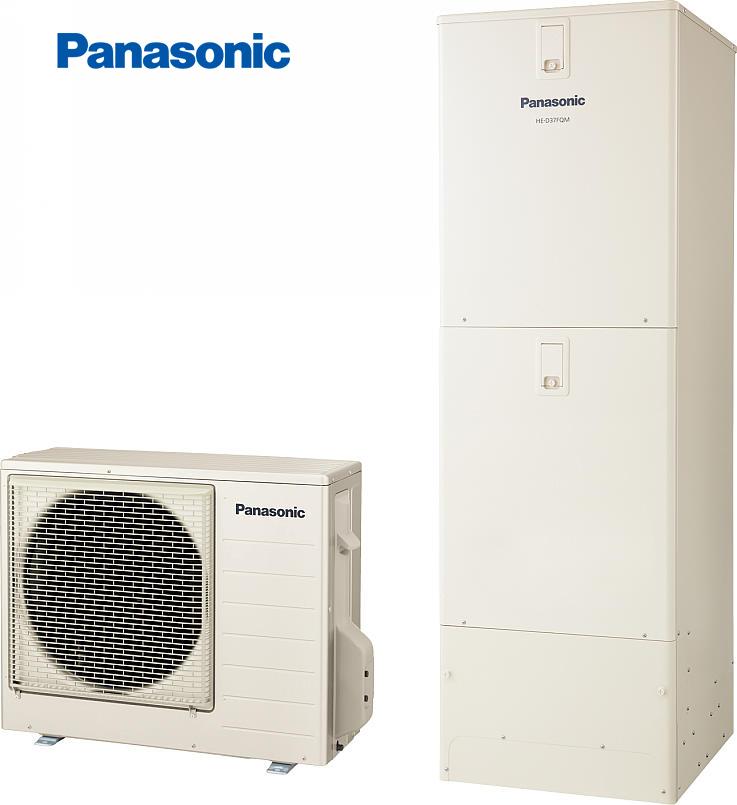 ###パナソニック エコキュート【HE-D37FQMS】(コミュニケーションリモコンセット)床暖房機能付フルオートDFシリーズ(受注生産)