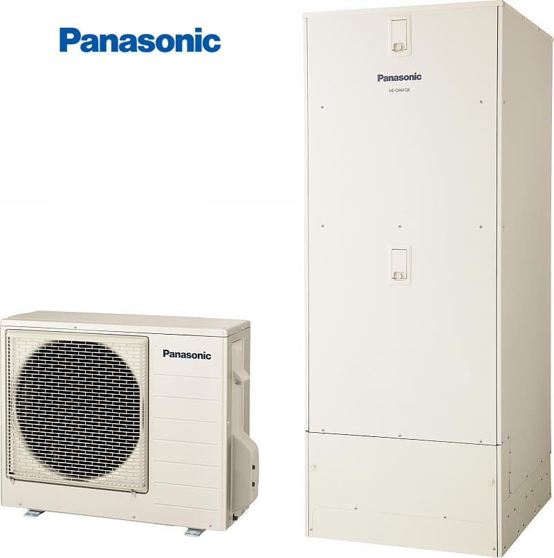 ##パナソニック エコキュート【HE-D46FQFS】(本体のみ)耐塩害仕様床暖房機能付フルオートDFシリーズ(受注生産)