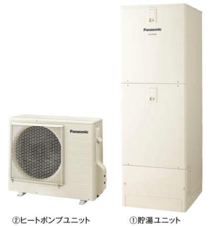 ###パナソニック エコキュート【HE-J37JQFS】(本体のみ) Jシリーズ フルオート 耐塩害仕様 屋内設置用 370L 受注約60日