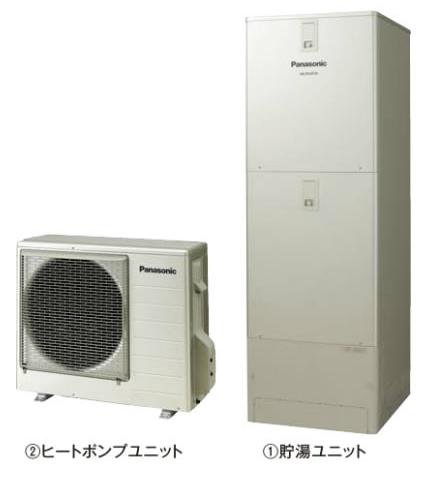 ###パナソニック エコキュート【HE-JPU46JXS】(コミュニケーションリモコンHE-RXFJW付) JPシリーズ パワフル高圧酸素入浴機能付 フルオート 屋外設置用 460L