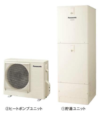 ###パナソニック エコキュート【HE-NU37JQS】(コミュニケーションリモコンHE-NQFJW付) Nシリーズ パワフル高圧 フルオート 屋外設置用 370L