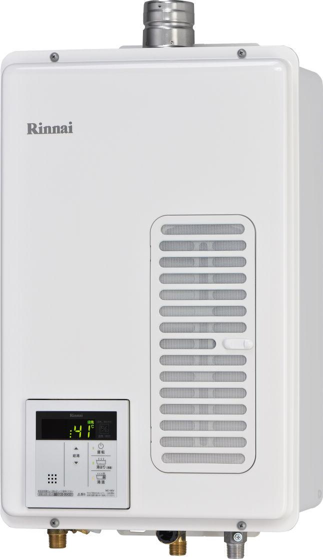 ###リンナイ ガス給湯専用機【RUX-V1015SWFA(A)】音声ナビ FE方式・屋内壁掛型 ユッコ 10号 (旧品番 RUX-V1015SWFA)