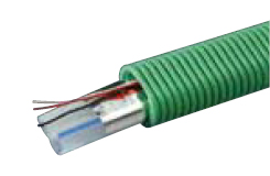 リンナイ ガス給湯器 部材【IPT-10L-DCDE(2)】φ10楕円CD付樹脂管 50m/巻