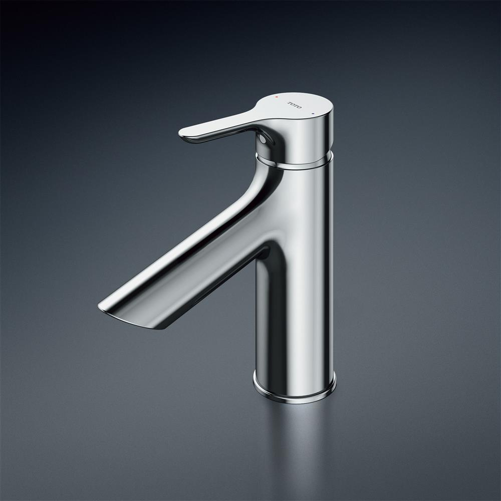 TOTO 洗面所用水栓【TLS01303JA】GAシリーズ 台付1穴 シングル ワンプッシュなし エコシングル(旧品番 TLS01303J)