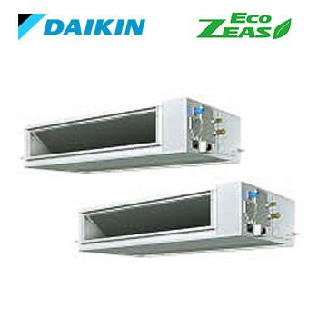 ###ダイキン 業務用エアコン【SZRM224AD】[分岐管セット] 天井埋込ダクト形(高静圧タイプ) ツイン同時 8馬力 ワイヤード 三相200V Eco ZEAS