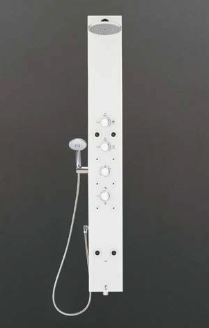 ###INAX/LIXIL【BF-W11TNLSLB/WC】マットホワイト シャワーパネル アクアネオ 寒冷地 受注生産約2週