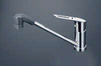 KVK【KM5011ZTFR2EC】シングルレバー式シャワー付混合栓 200mmパイプ付 寒冷地用