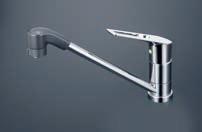KVK【KM5011TFR2EC】シングルレバー式シャワー付混合栓 200mmパイプ付 一般地用
