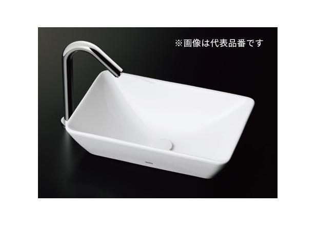 ###TOTO セット品番【L725 #NW1+TLC11C2】カウンター式手洗器 ベッセル式 ホワイト 立水栓 床排水金具(Sトラップ)