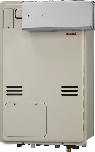 ###リンナイ ガス給湯暖房用熱源機【RUFH-A2400AA】フルオート アルコーブ設置型 24号 1温度 受注生産