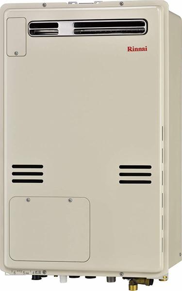 リンナイ ガス給湯暖房用熱源機【RUFH-A2400AW】フルオート 屋外壁掛・PS設置型 24号 1温度
