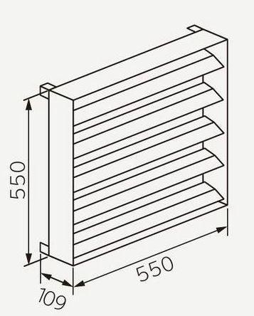 日立 エアコン 据付部材【SP-HK-8】室外ユニット風向ガイド