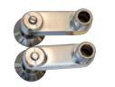 ハンスグローエ【52054664】共通部品 止水栓付偏心脚(2個入り、ストレーナー付、フランジφ47.5mm)