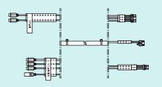 リンナイ 浴室テレビ 部材【DSC-1600-15】浴室テレビ取替専用オプション 外部入出力中継ケーブル 長さ15m
