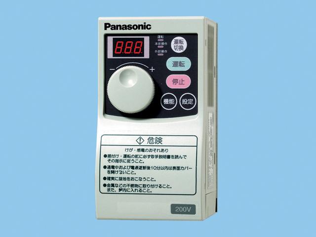 パナソニック システム部材【FY-S1N08T】送風機用インバ-タ- 三相200V 0.75kW