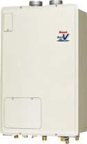###リンナイ ガス給湯暖房用熱源機【RUH-V1613FF(A)】給湯+暖房タイプ 音声ナビ FF方式・屋内壁掛型 16号 1温度