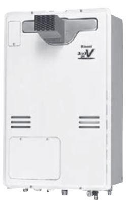 ###リンナイ ガス給湯暖房用熱源機【RUH-V1613T(A)】給湯+暖房タイプ 音声ナビ PS扉内設置型/PS前排気型(延長不可タイプ) 16号 1温度