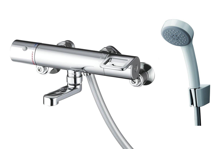 ∞《あす楽》◆15時迄出荷OK!TOTO 水栓金具【TMGG40SER】壁付サーモスタット混合水栓 スパウト長さ70mm エアイン(樹脂)シャワー (旧品番 TMGG40SE)