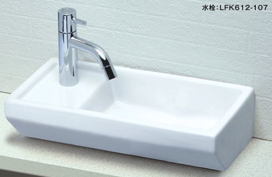 ≧KVK 洗面器【KV435L】手洗器 陶器