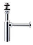 KVK 排水金具【VR708PAC】壁排水ボトルトラップ φ41用 オーバーフロー付