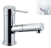 πINAX【LF-E345SYC】吐水口引出式シングルレバー混合水栓 eモダン(エコハンドル)