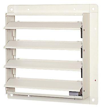 三菱 有圧換気扇システム部材 【PS-20SMXA】(PS20SMXA) 有圧換気扇用シャッター(電動式) ステンレス製 単相100V