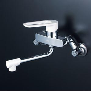《あす楽》◆15時迄出荷OK!KVK 水栓金具【MSK110K】壁付シングルレバー式混合水栓