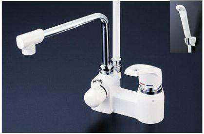 《あす楽》◆15時迄出荷OK!KVK【KF6004】デッキ形シングルレバー式シャワー