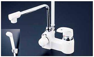 有名な高級ブランド KVK【KF6004ZR24】デッキ形シングルレバー式シャワー 寒冷地用 寒冷地用 240mmパイプ付:家電と住設のイークローバー, BloomBroome:7e76b5d4 --- nedelik.at