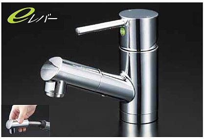 KVK【KM8021TEC】洗面用シングルレバー式混合栓
