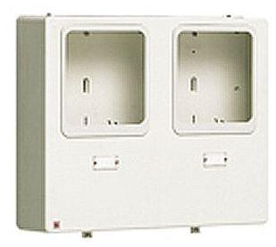 パナソニック【BQKN8324WJ】WHM取り付けボックス2窓用 電子式計器(10時間帯)用