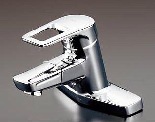TOTO 水栓金具【TLHG30DQER】シングルレバー混合栓 台付き(2穴) 吐水口回転タイプ エコシングル