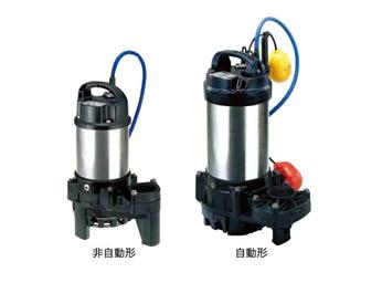 ツルミポンプ 海水用 水中チタンポンプ【40TM2.25】三相200V
