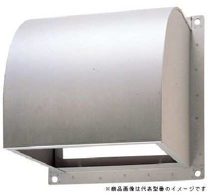 ####東芝 換気扇部材【C-40SPA2】 インテリア有圧換気扇・有圧換気扇ステンレス形用ウェザーカバー ステンレス製