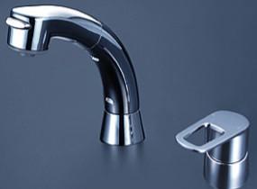 KVK 洗面化粧室【FSL121DT】シングルレバー式洗髪シャワー